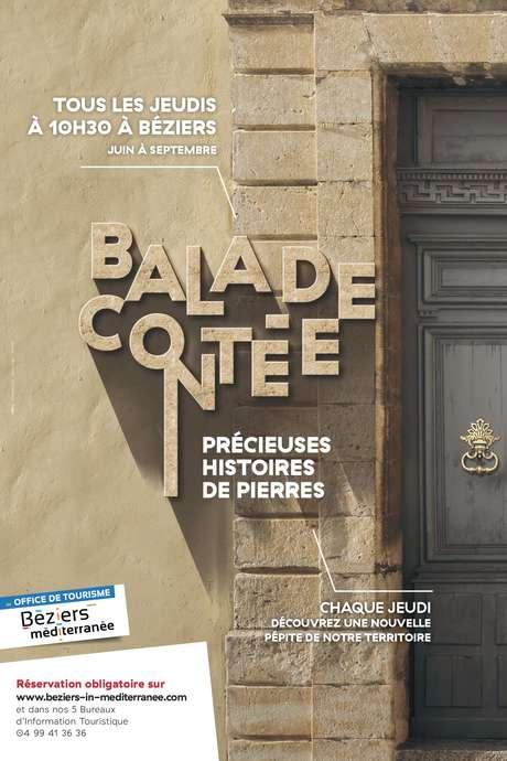 BALADE CONTEE PRECIEUSES HISTOIRES DE PIERRES : LA BASILIQUE SAINT-APHRODISE