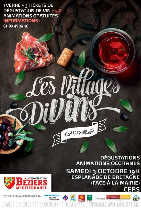 ANNULE - LES VILLAGES DIVINS - DEGUSTATION A CERS
