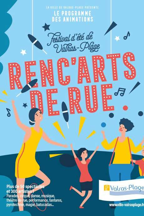 LES RENC'ARTS DE RUE - LES DEAMBULATIONS