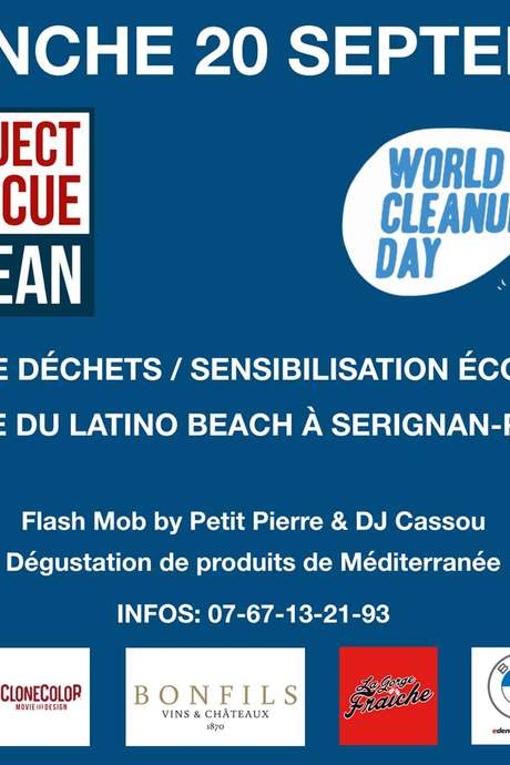 ANNULE - PROJECT RESCUE OCEAN X WORLD CLEANUP DAY