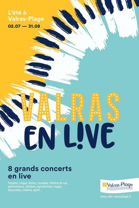 VALRAS EN LIVE ! TRIBUTE CABREL