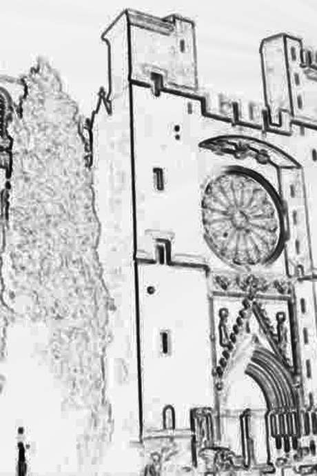 LA CATHEDRALE SAINT NAZAIRE ET SA MONTEE AU CLOCHER - L'ARCHITECTURE MEDIEVALE
