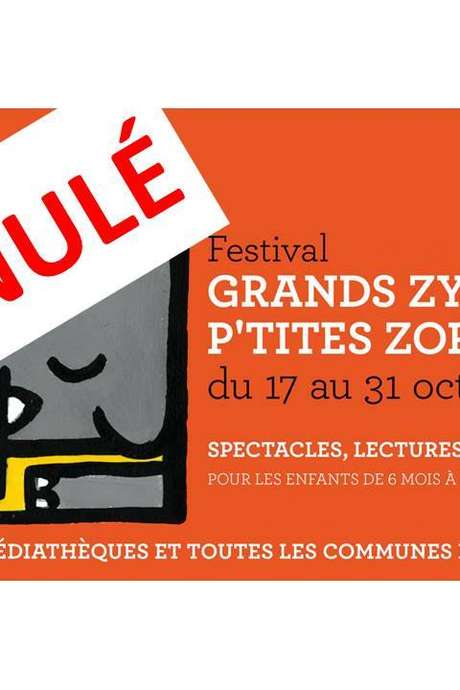 ANNULATION - LATUFEE- GRANDS ZYEUX P'TITES ZOREILLE