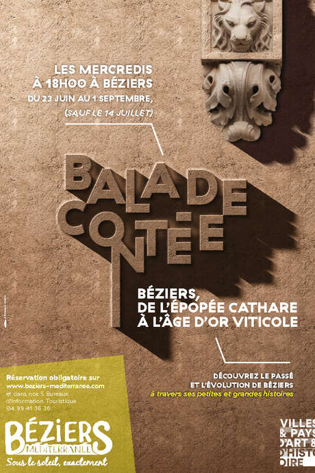 BEZIERS, DE L'EPOPEE CATHARE A L'AGE D'OR VITICOLE
