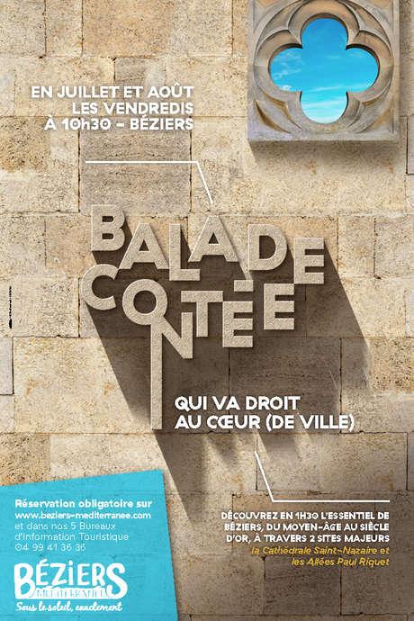 BALADE CONTEE QUI VA DROIT AU COEUR (DE VILLE)