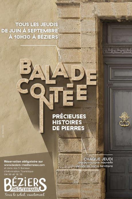 BALADE CONTEE PRECIEUSES HISTOIRES DE PIERRES : L'EGLISE DE LA MADELEINE