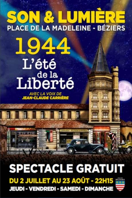 SPECTACLE SON ET LUMIERE  « 1944, L'ÉTÉ DE LA LIBÉRATION»
