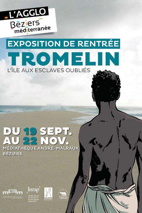 EXPOSITION -TROMELIN, L' ILE AUX ESCLAVES OUBLIES