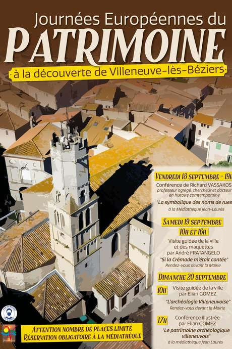 JOURNEES DU PATRIMOINE - CONFERENCE ILLUSTREE