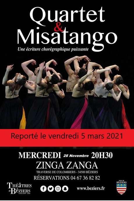 REPORTE LE 5 MARS 2021 - SPECTACLE QUARTET & MISATANGO