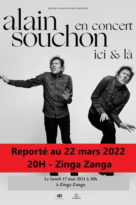 REPORTE AU 22 MARS 2022 - ALAIN SOUCHON - ICI & LA