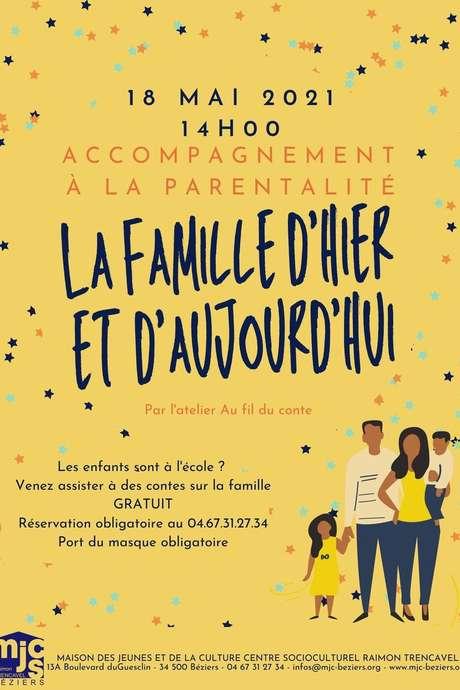 LA FAMILLE D'HIER ET D'AUJOURD'HUI - ATELIER AU FIL DU CONTE