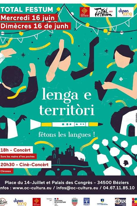TOTAL FESTUM - LENGA E TERRITORI - FETONS LES LANGUE D'ICI ET D'AILLEURS