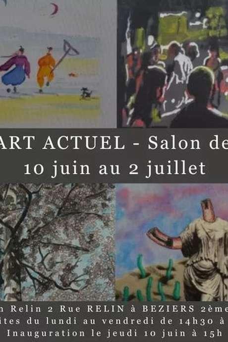 GALERIE ART ACTUEL - SALON DE DESSINS
