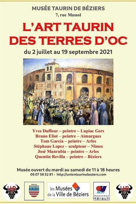 EXPOSITION - L'ART TAURIN DES TERRES D'OC