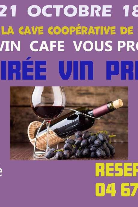 SOIREE VIN PRIMEUR - LE  DIVIN CAFE