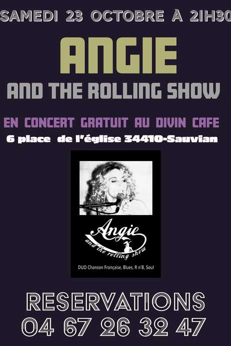 CONCERT - ANGIE AND THE ROLLING SHOW