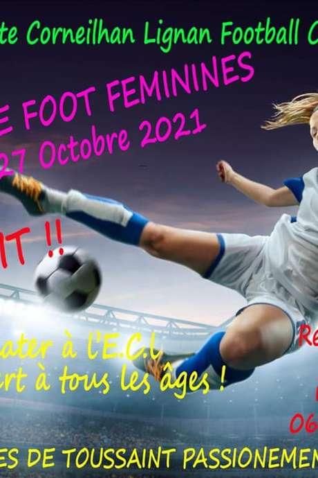STAGE DE FOOT - FEMININES