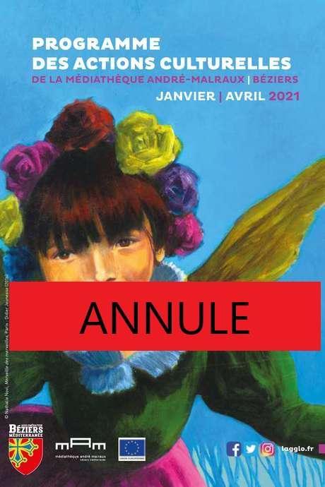 ANNULE - ATELIER D'ECRITURE SPECIALE NATHALIE NOVI