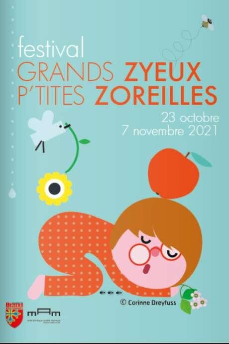 FESTIVAL GRANDS ZYEUX P'TITES ZOREILLES - SPECTACLE DE MARIONNETTES - CHATAIGNES SOUS LES BOIS