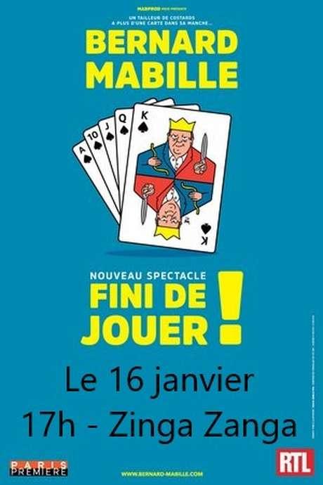 BERNARD MABILLE - FINI DE JOUER!