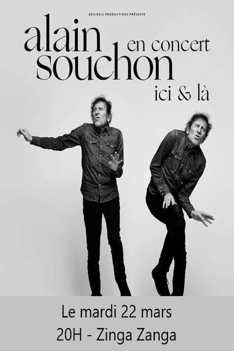 ALAIN SOUCHON - ICI & LA