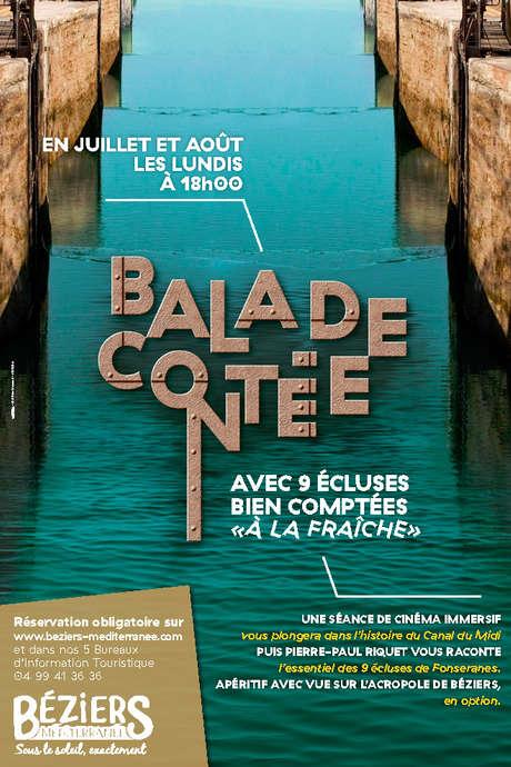 BALADE CONTEE AVEC 9 ECLUSES BIEN COMPTEES A LA FRAICHE (APERITIF EN OPTION)