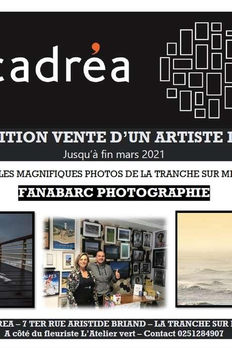 EXPOSITION VENTE D'UN ARTISTE LOCAL CHEZ CADRÉA