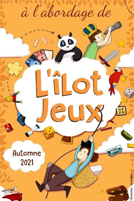 LUDOTHÈQUE - L'ÏLOT JEUX - AUTOMNE