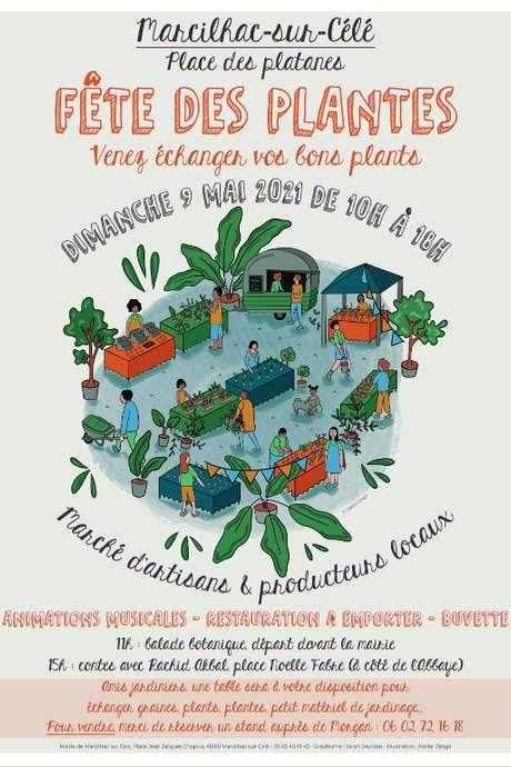 Fête des Plantes à Marcilhac-Sur-Célé