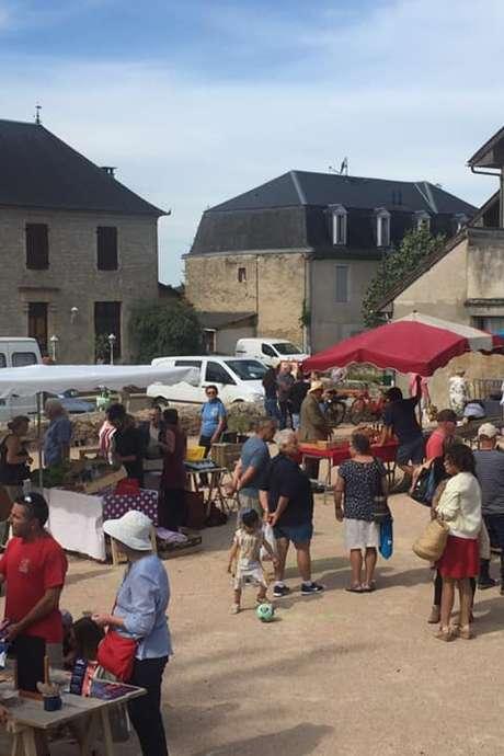 Marché d'Eté à Alvignac