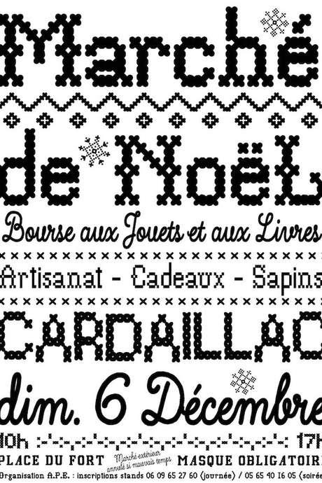 Marché de Noël à Cardaillac