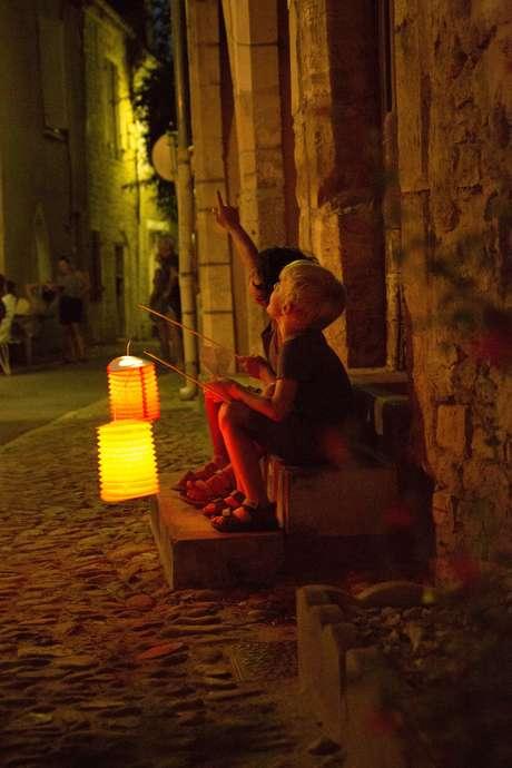 Pays d'Art et d'Histoire : Visite Nocturne aux Lampions