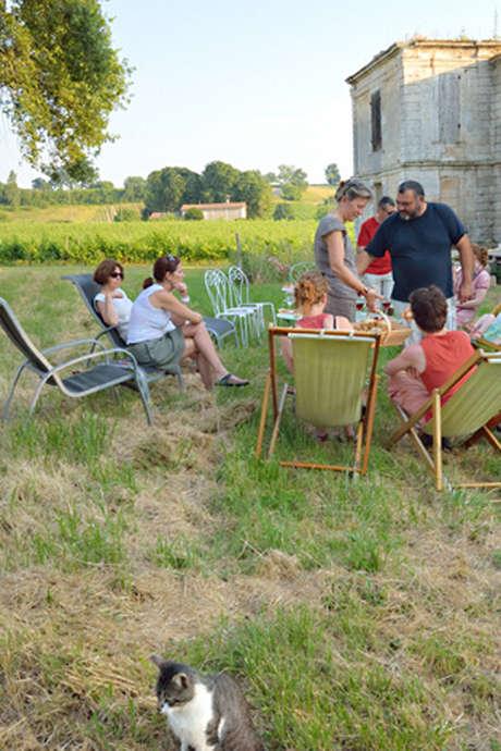 Les Rando-Tapas du Château Boutinet à Villegouge