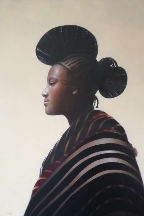 Exposition de peintures de Ganas