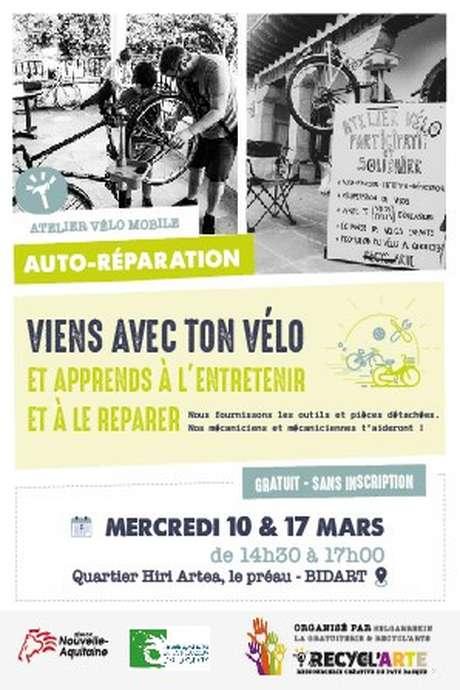 Atelier vélo mobile