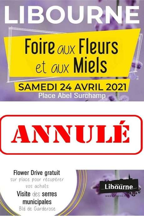 ANNULÉ : Foire aux fleurs et aux miels