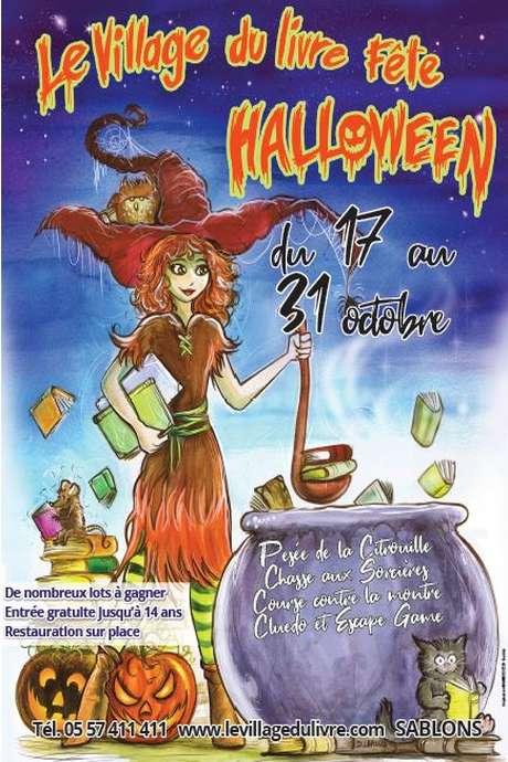 Halloween au Village du Livre