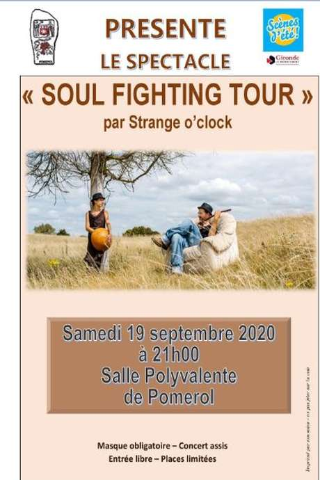 "Spectacle ""Soul fighting Tour"" par Strange o'clock"