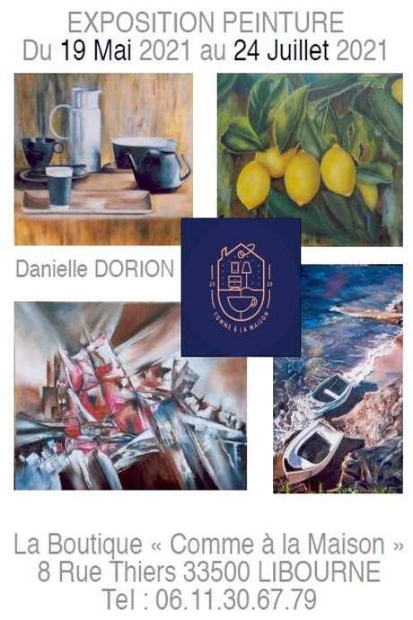 Exposition Peinture - Danielle DORION