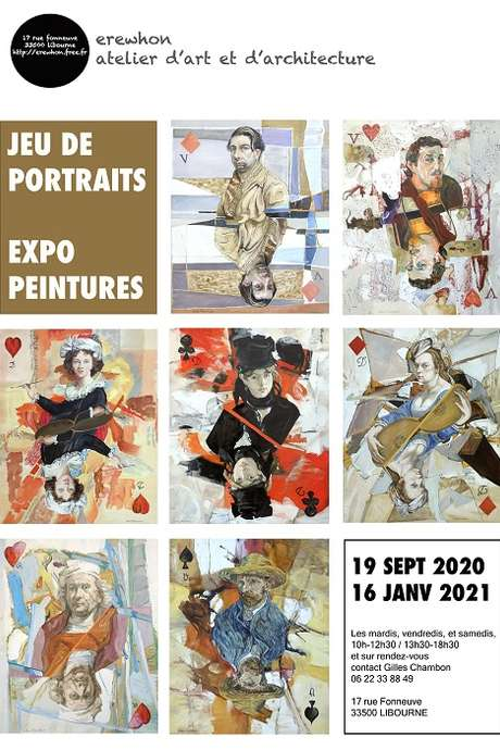 """Exposition """"Jeu de portraits"""""""