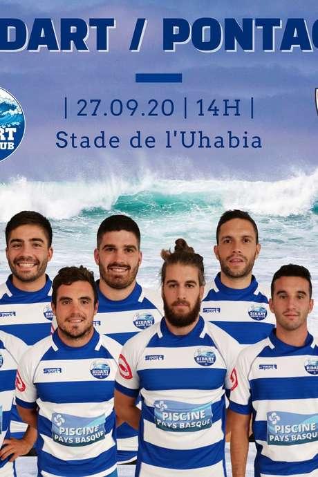Match de rugby - BUC contre Pontacq