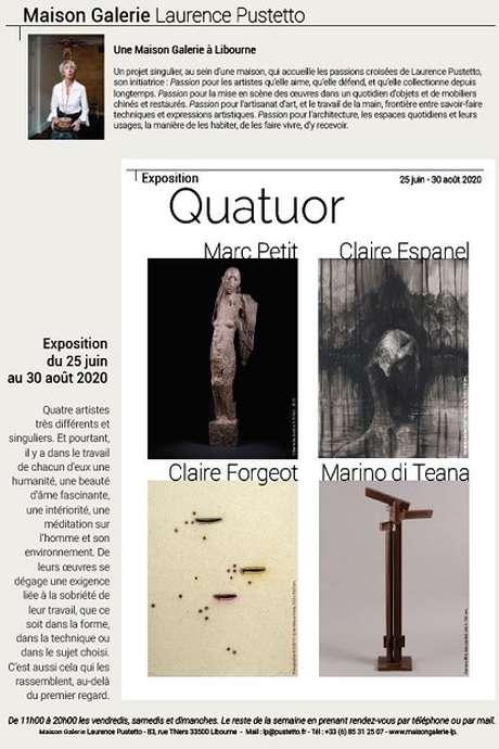 Exposition Quatuor