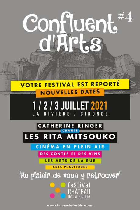 Festival Château de La Rivière Confluent d'Arts