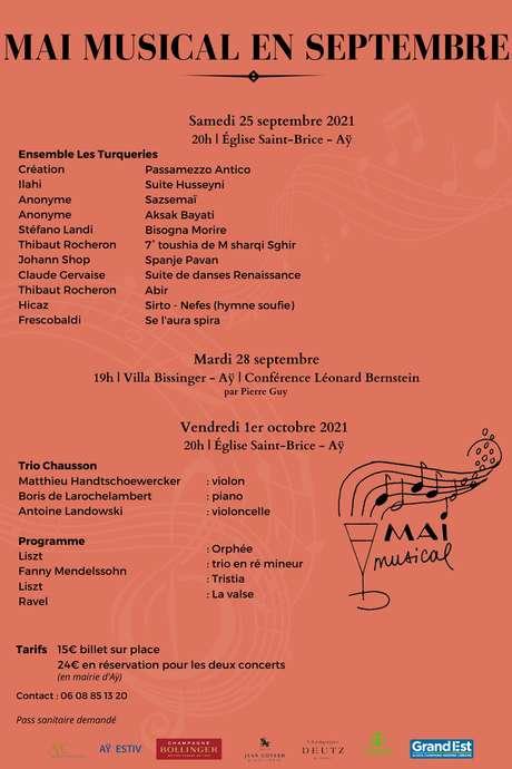 MAI MUSICAL EN SEPTEMBRE