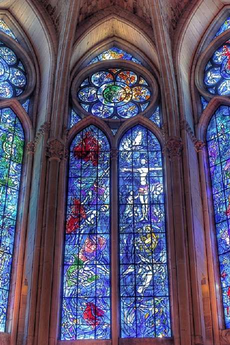 Marc Chagall et l'art du vitrail