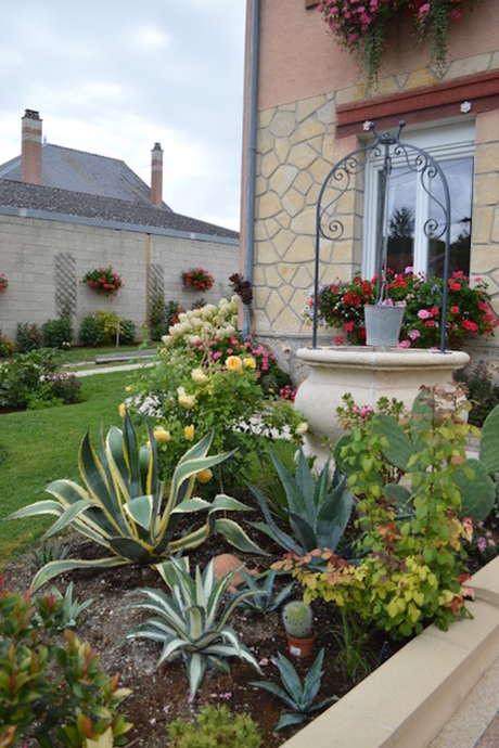 Portes ouvertes dans les jardins : chez M. et Mme Denis et Jeanne JOT