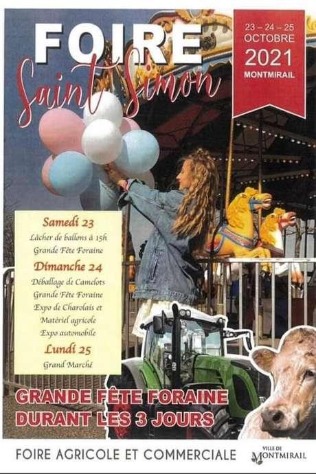 Foire Saint Simon MONTMIRAIL