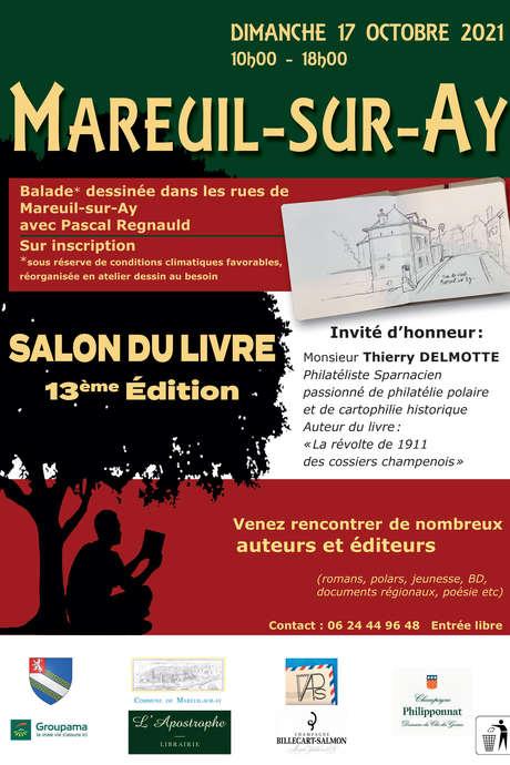 Salon du livre 13ème édition à Mareuil-sur-Aÿ