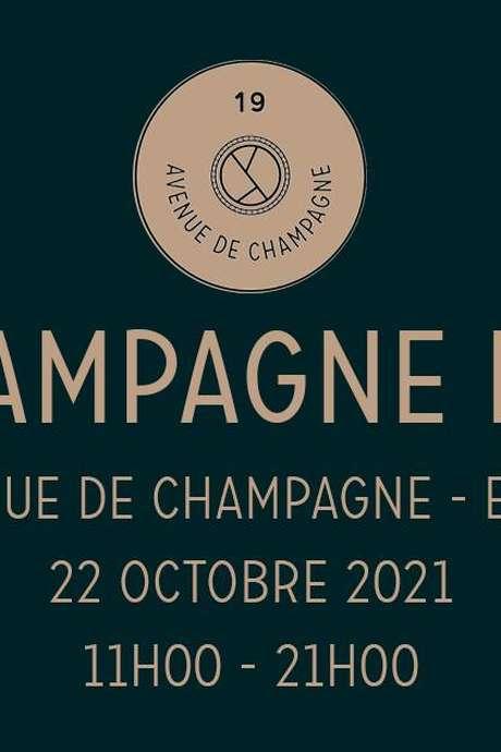 Champagne Day au 19 Avenue de Champagne SGV